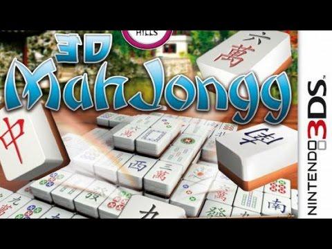 3D MahJongg Gameplay {Nintendo 3DS} {60 FPS} {1080p}