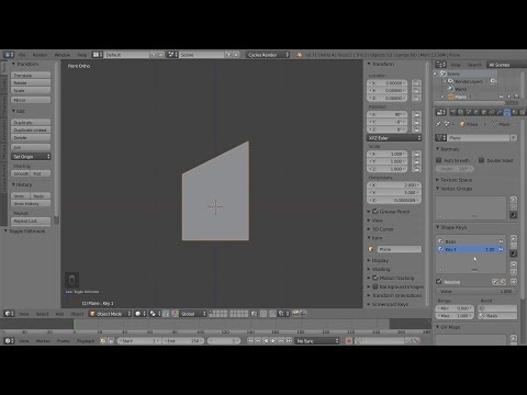 Mesh being deformed by other mesh/object (punch) :: Blender