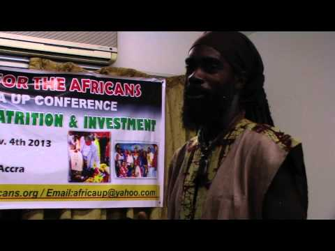 The Process of Repatriating to Africa - Ghana Tour Oct 2013