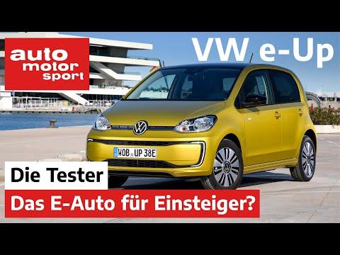 Volkswagen e-Up: Reicht der VW als Einsteiger-E-Auto? - Test/Review   auto motor und sport