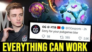 Everything can work - OG.Ana IO Carry 2 Games in a Row in TI9 Dota 2