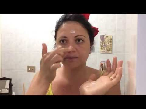 Cura di pelle di faccia pigmentary posti