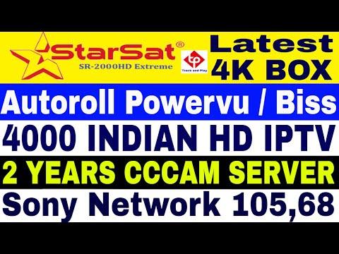 StarSat SR 2000 HD Extreme Add Forever Server New Package