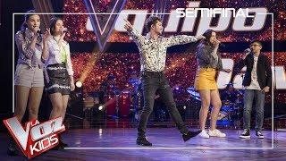 David Bisbal y sus talents cantan 'A partir de hoy' | Semifinal | La Voz Kids Antena 3 2019