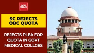Supreme Court Rejects Petition For 50% Reservation For OBC in Tamil Nadu Government Medical Colleges - Download this Video in MP3, M4A, WEBM, MP4, 3GP