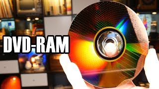 DVD-RAM: The Disc that Behaved like a Flash Drive