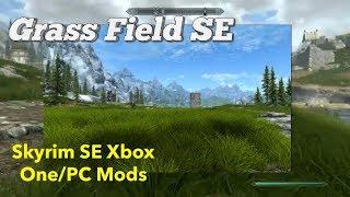 Grass Field SE Skyrim SE Xbox One/PC Mods