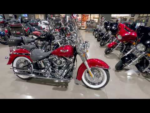 2012 Harley Davidson Softail Deluxe FLSTN103
