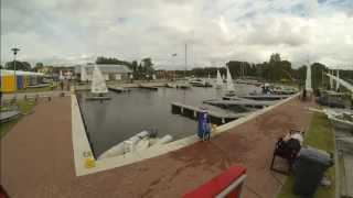 preview picture of video 'EUROPA CUP w klasie LASER Dziwnów 2014'