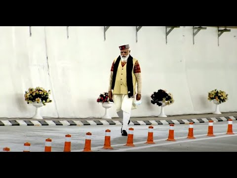 PM Modi inaugurates Atal Tunnel - World's longest highway tunnel above 10,000 ft at Rohtang
