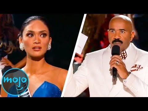 Top 10 Most Embarrassing Miss Universe Fails