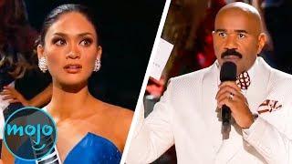 Top 10 EPIC Miss Universe Fails