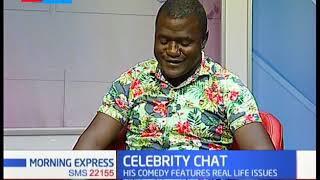 Celebrity Chat: Comedian Victor Noman  alias Mulamwa