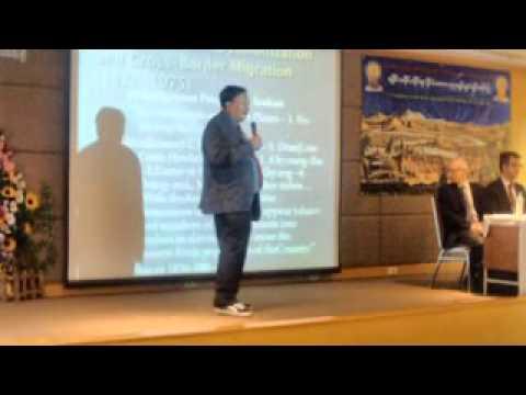 Dr Aye Chan's Seminar on History of Arakan(Rakhine) at Mahidol,Bangkok