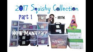 2017 SQUISHY COLLECTION! | Part 1 of 2
