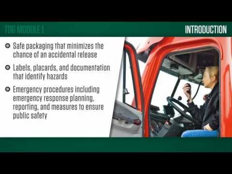 Transportation Of Dangerous Goods Tdg Hse Integrated Training