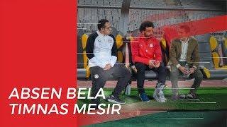 Cedera Engkel saat Kontra Leicester City, Salah Absen Bela Timnas Mesir