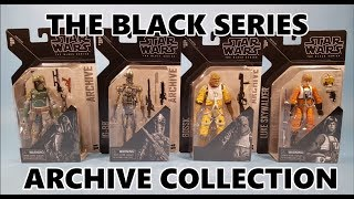The Black Series Archive Collection ESB Bounty Hunter Set