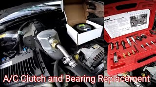 How To Replace A/C Clutch Pulley And Coil