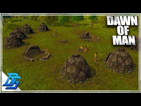 Raising Cavemen to Iron Age - Dawn of Man Gameplay - Part 1