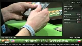 Pro Tour Theros - Standard Round 15 - Paul Rietzl vs. Lukas Jaklovsky