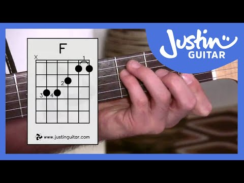 3 Ways Of Playing F Chord - Guitar Lesson - Guitar For Beginners Stage 6 [BC-161] Mp3