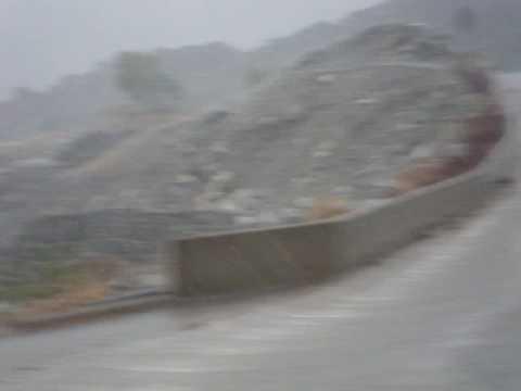 الامطار التي هطلت على مكة المكرمة
