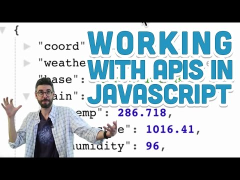 10.5: Working with APIs in Javascript – p5.js Tutorial
