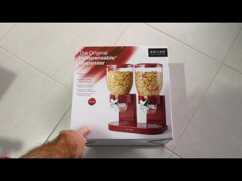 Nev Reviews : Zevro Cereal Dispenser