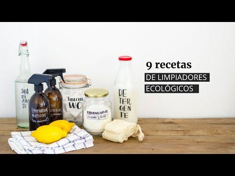 9 recetas de limpiadores ecológicos caseros