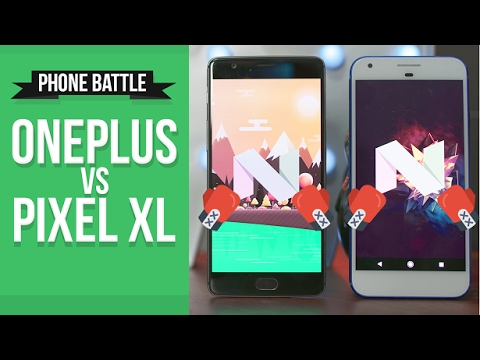 OnePlus 3T vs Pixel XL // Real World Phone Battle Review!