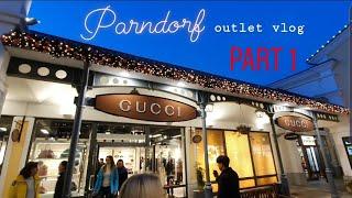 Parndorf, Austria outlet vlog (Part 1: Moncler, Prada, Gucci...)