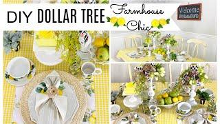 🍋DIY DOLLAR TREE FARMHOUSE CHIC DECOR CRAFTS🍋BEAUTIFUL DECOR ON A BUDGET~Olivias Romantic Home DIY