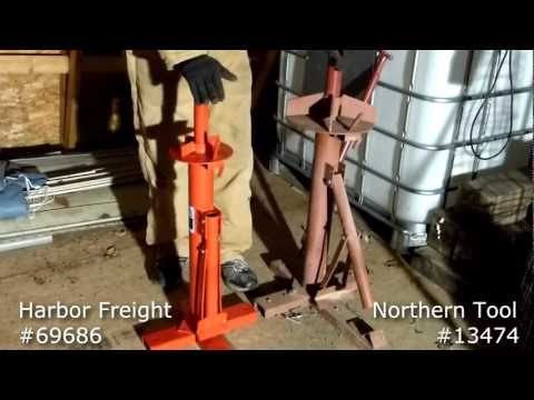 Manual Tire Changer Comparison - Harbor Freight 69686 Vs. Northern Tool 13474