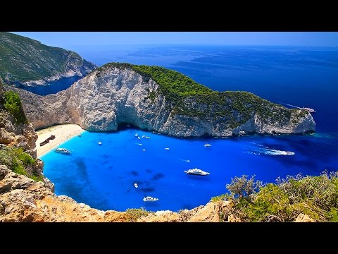Video Zakynthos Island Vacation - Best Places to Visit in Greece HD