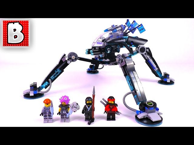 Video LEGO Ninjago Movie Water Strider 70611! | Unbox Build Time ...