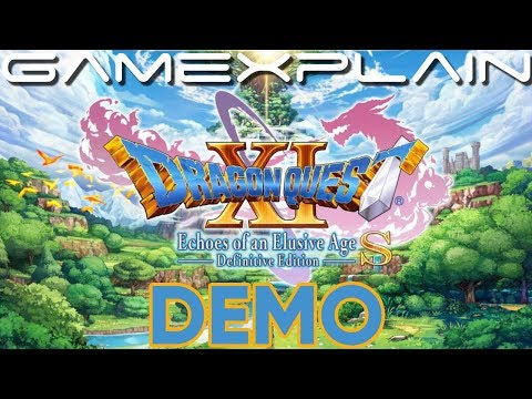 The Dragon Quest XI S Demo Is Longer Than Some Full Games
