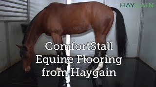 COMFORTSTALL Equine Flooring Kit from Haygain