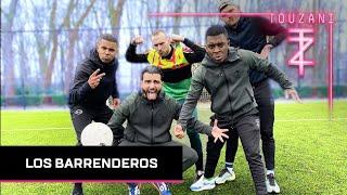 VOETBAL CHALLENGE MET LOS BARRENDEROS + GEVONDEN KEEPER !