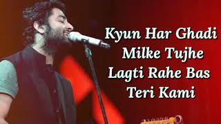 Baatein Ye Kabhi Na Lyrics | Khamoshiyan | Arijit   - YouTube