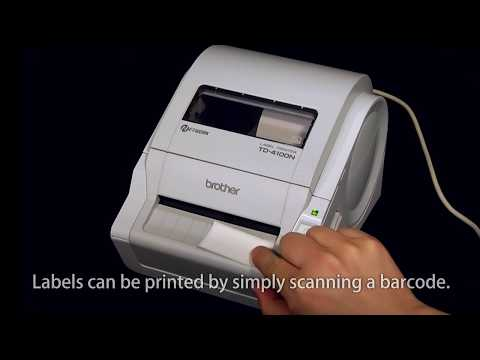 Standalone Solution using a Brother Professional Label Printer with a Barcode Reader