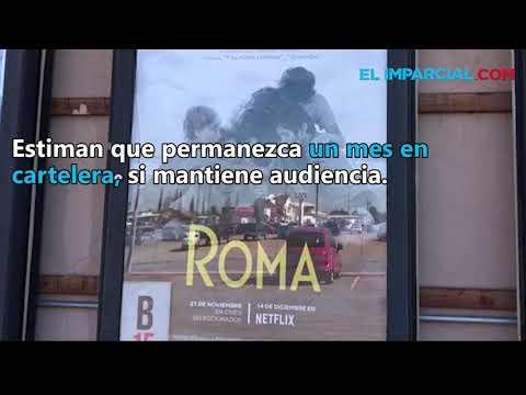 El largometraje de Alfonso Cuarón proyecta en Agua Prieta, Sonora.