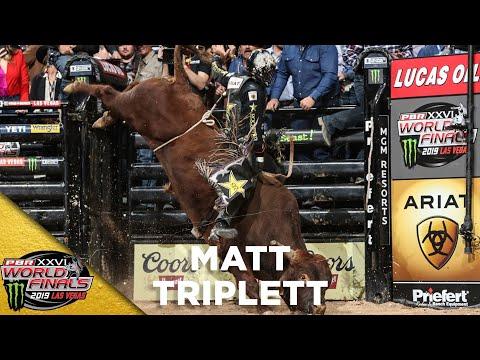 WORLD FINALS: Matt Triplett Finishes Vegas With a Ride on Bezerk in Champ Round | 2019