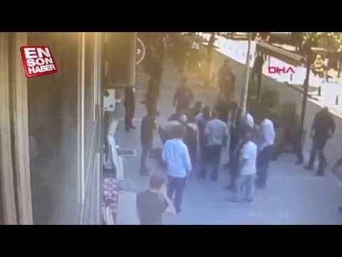 Мгновенное наказание за избиение девушки в Турции