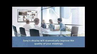 BRAVIA Professional Display Meeting Room Solution