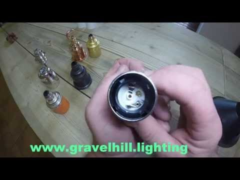 How to Unlock an Edison E27 Lamp Holder by Gravel Hill Lighting