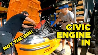 This Civic Needs to go IN THE BIN (EP7)