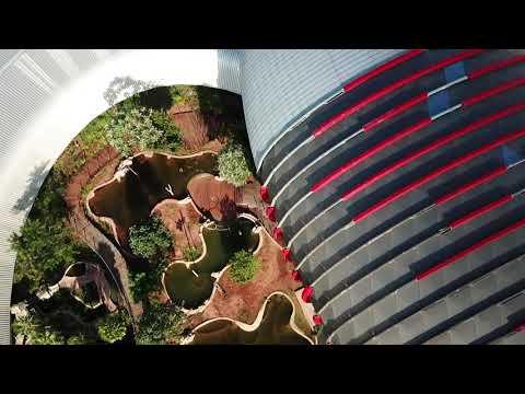 Sobrevoo Drone DJI Mavic Pro Obras do Aquário do Pantanal