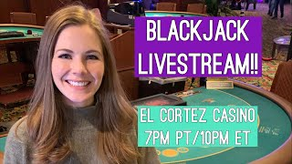 Blackjack Livestream!! $1000 Buy-in!! Nov 13 2019