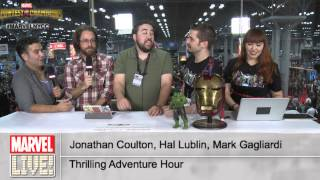 Jonathan Coulton, Hal Lubin, Mark Galiardi Pick Which Marvel Characters They Would Play at NYCC 2014